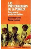 Papel PARTICIPACIONES DE LA POBREZA LAS PROGRAMAS Y PROYECTOS (TRAMAS SOCIALES 75202)