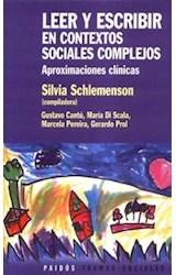 Papel LEER Y ESCRIBIR EN CONTEXTOS SOCIALES COMPLEJOS