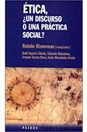 Papel ETICA UN DISCURSO O UNA PRACTICA SOCIAL (TRAMAS SOCIALES 75212)