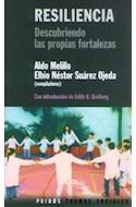 Papel RESILIENCIA DESCUBRIENDO LAS PROPIAS FORTALEZAS (TRAMAS SOCIALES 75213)