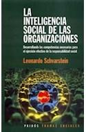 Papel INTELIGENCIA SOCIAL DE LAS ORGANIZACIONES (TEMAS SOCIALES 75216)