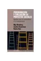 Papel PROGRAMACION Y EVALUACION DE PROYECTOS SOCIALES
