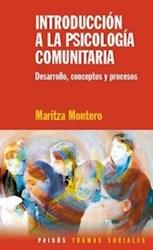 Papel Introduccion A La Psicologia Comunitaria