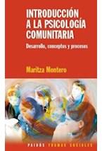 Papel INTRODUCCION A LA PSICOLOGIA COMUNITARIA (DESARROLLO, CONCEP