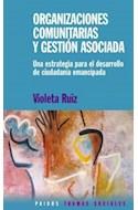 Papel ORGANIZACIONES COMUNITARIAS Y GESTION ASOCIADA (TRAMAS SOCIALES 75226)