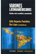 Papel VARONES LATINOAMERICANOS (TRAMAS SOCIALES 75231)