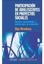 Papel PARTICIPACION DE ADOLESCENTES EN PROYECTOS SOCIALES