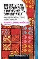 Papel SUBJETIVIDAD PARTICIPACION E INTERVENCION COMUNITARIA (TRAMAS SOCIALES 75251)