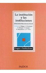 Papel LA INSTITUCION Y LAS INSTITUCIONES