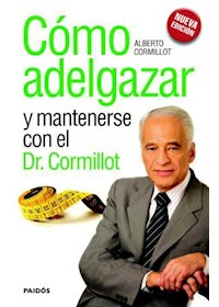 Papel Cómo Adelgazar Y Mantenerse Con Del Dr. Cormillot