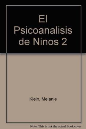 Papel Psicoanalisis De Niños (T2), El