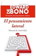 Papel PENSAMIENTO LATERAL MANUAL DE CREATIVIDAD (BIBLIOTECA EDWARD DE BONO)