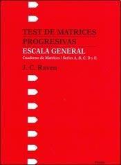 Test ESCALA GENERAL TEST DE MAT.PROGRESIVAS. ESCALA GENER