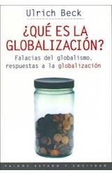 Papel QUE ES LA GLOBALIZACION (ESTADO Y SOCIEDAD 45058)
