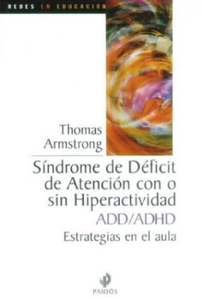 Papel Sindrome De Deficit De Atencion Con O Sin Hiperactividad