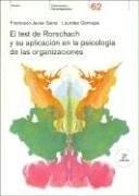 Papel TEST DE RORSCHACH Y SU APLICACION EN LA PSICOLOGIA DE LAS ORGANIZACIONES (PSICOMETRIA Y PSICO 21062)
