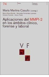 Test APLICACIONES DEL MMPI-2 EN LOS AMBITOS CLINICO, FORENSE Y...