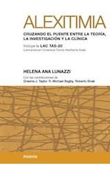 Test ALEXITIMIA CRUZANDO EL PUENTE ENTRE LA TEORIA, LA INVESTIGAC