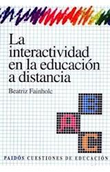 Papel LA INTERACTIVIDAD EN LA EDUCACION A DISTANCIA