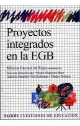 Papel PROYECTOS INTEGRADOS EN LA EGB