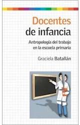Papel DOCENTES DE INFANCIA (ANTROPOLOGIA DEL TRABAJO EN LA ESCUELA