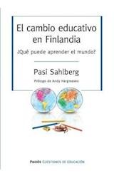 Papel EL CAMBIO EDUCATIVO EN FINLANDIA