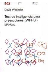 Test WPPSI (MANUAL) TEST DE INTELIGENCIA PARA PREESCOLARES