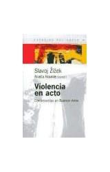 Papel VIOLENCIA EN ACTO (CONFERENCIAS EN BUENOS AIRES)