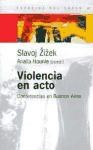 Papel Violencia En Acto. Conferencias En Buenos Aires