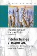 Papel Intelectuales Y Expertos. La Contitucion Del Conocimiento So