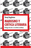 Papel MARXISMO Y CRITICA LITERARIA (ESPACIOS DEL SABER 8074084)