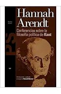 Papel CONFERENCIAS SOBRE LA FILOSOFIA POLITICA DE KANT (STUDIO 31157)