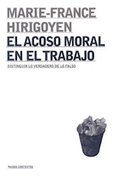 Papel EL ACOSO MORAL EN EL TRABAJO