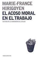 Papel ACOSO MORAL EN EL TRABAJO (PAIDOS CONTEXTOS 52067)