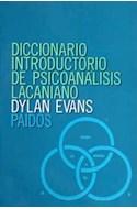 Papel DICCIONARIO INTRODUCTORIO DE PSICOANALISIS LACANIANO (COLECCION LEXICON)
