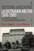Libro La Dictadura Militar 1976-1983