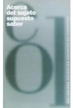 Papel ACERCA DEL SUJETO SUPUESTO SABER
