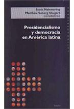 Papel PRESIDENCIALISMO Y DEMOCRACIA EN AMERICA LATINA