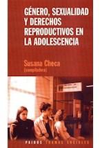 Papel GENERO, SEXUALIDAD Y DERECHOS REPRODUCTIVOS EN LA ADOLESCENI
