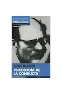 Papel PSICOLOGIA DE LA CONDUCTA (BILIOTECA FUNDAMENTAL CIENCIAS DE LA PSICOLOGIA)