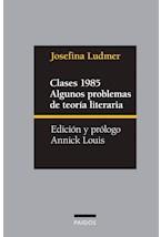 Papel CLASES 1985. ALGUNOS PROBLEMAS DE TEORIA LITERARIA