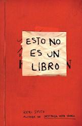 Libro Esto No Es Un Libro