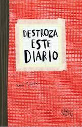 Libro Destroza Este Diario ( Rojo )