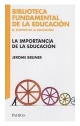 Papel LA IMPORTANCIA DE LA EDUCACION
