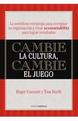 Papel CAMBIE LA CULTURA CAMBIE EL JUEGO (COLECCION PAIDOS EMPRESA)