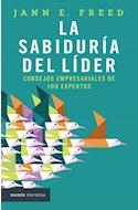 Papel SABIDURIA DEL LIDER CONSEJOS EMPRESARIALES DE 100 EXPERTOS (PAIDOS EMPRESA)