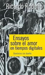 Libro Ensayos Sobre El Amor En Tiempos Digitales