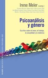 Libro Psicoanalisis Y Genero
