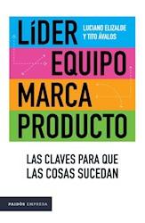 Libro Lider , Equipo , Marca , Producto