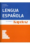 Papel PEQUEÑO DICCIONARIO DE LA LENGUA ESPAÑOLA (BOLSILLO) (+27000 VOCES DEFINIDAS) (NOVEDAD 2019)